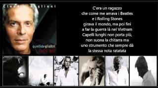 CLAUDIO BAGLIONI - C'era un ragazzo