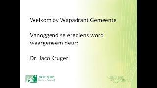 Gee jouself - Jaco Kruger (20 Jan. 2019)