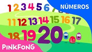 Contando del 1 al 20 | Números | PINKFONG Canciones Infantiles