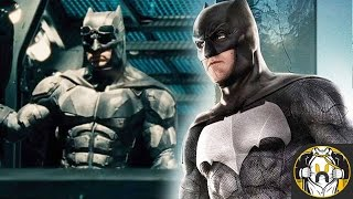 NEW Black & Silver Batsuit for Justice League REVEALED!
