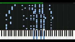 Enrique Iglesias - Rhythm divine [Piano Tutorial] Synthesia | passkeypiano