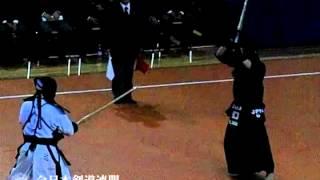 中堅/1本目:正代選手の胴