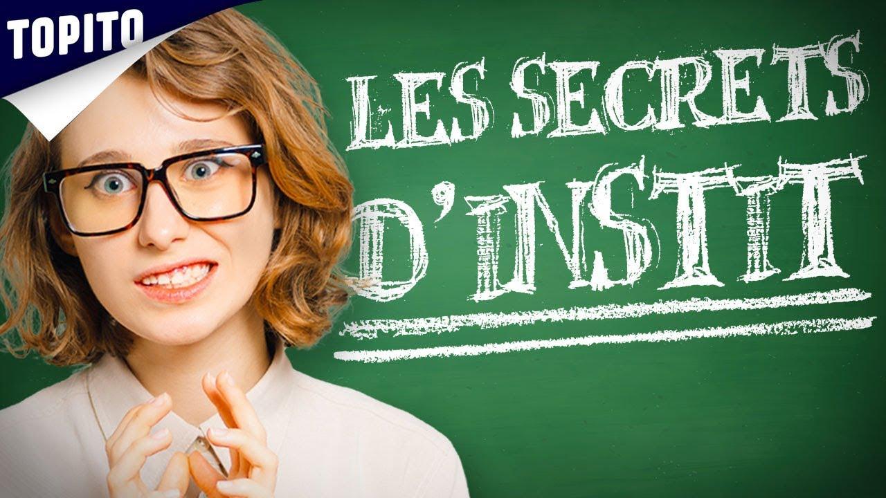 Top 8 des secrets inavouables des instits