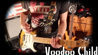 'VOODOO CHILD' - Cover - Jimi Hendrix - Performed by Karl Golden