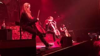 Apocalyptica performing Metallica (Unforgiven) at Rams Head Live Baltimore 5/19/2016
