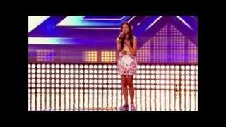 Melanie McCabe's X Factor audition 2012 - Simon & Garfunkel Bridge Over Troubled Water