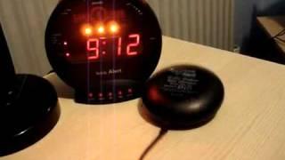 Reloj Despertador Bomba Sonica