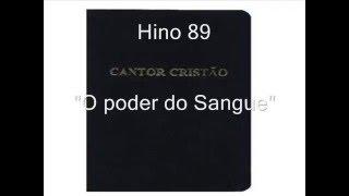 Hino 89 - O poder do Sangue