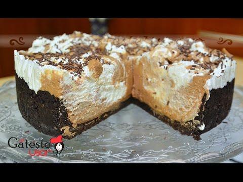 Reteta de Cheesecake fara coacere cu Biscuiti Oreo si Nutella