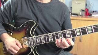 Jazz Guitar Lick No.1 - Major 7