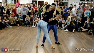 Carlos Espinosa y M Angeles [Marvin Gaye] @ Russian Bachata Festival 2017
