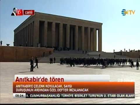 İlk Töreni Anıtkabir'de Yapıldı (23 Nisan Ulusal Egemenlik ve Çocuk Bayramı) İzle