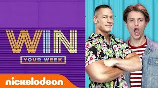 Jace Norman's John Cena Impression 🗣️ SpongeBob Meme Challenge 🍍 Earth Day 🌿 & More! | #WinYourWeek