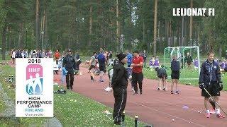 IIHF Women High-Performance camp - outdoor training // Vierumäki, Finland 7.-14.7.2018