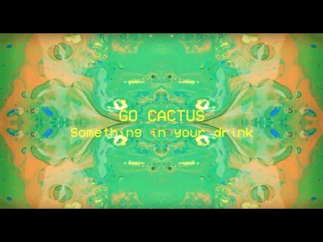 Video oficial de Something in Your Drink de Go cactus