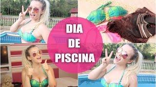 SE ARRUME COMIGO: DIA DE PISCINA ♥