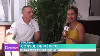 El Cónsul de México en Miami nos visitó