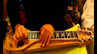 Pink Floyd - High Hopes (D. Gilmour lapsteel solo cover)