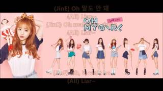 Oh My Girl - Liar Liar - Hangul, Romaja and English Lyrics