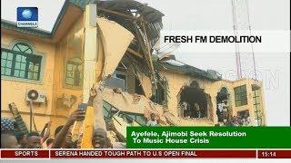 Ayefele, Ajumobi Seek Resolution To Music House Demolition