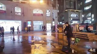 街头歌手吉他弹唱《前任三》主题曲《体面》,真是好听极了