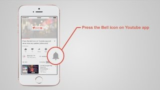 3 Press the Bell icon YouTube Intro Template