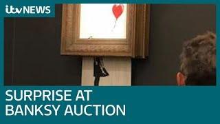 Banksy 'prank' sees £1 million artwork shredded | ITV News