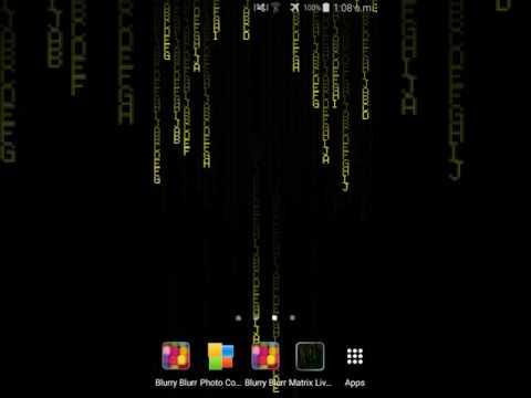 Matrix Digital Rain Hd Live Wallpaper