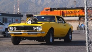 Crusher Camaro Hits the Drag Strip! - HOT ROD Unlimited Episode 3