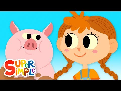 The Farmer In The Dell | Kids Songs | Super Simple Songs - YouTube