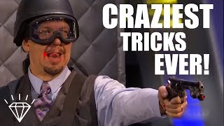 Top 10 Craziest Magic Tricks Ever Performed! width=
