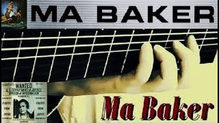 """""""Ma Baker"""" - guitar extracts (Farian-Reyam-Jay/arr.11kralle)"""