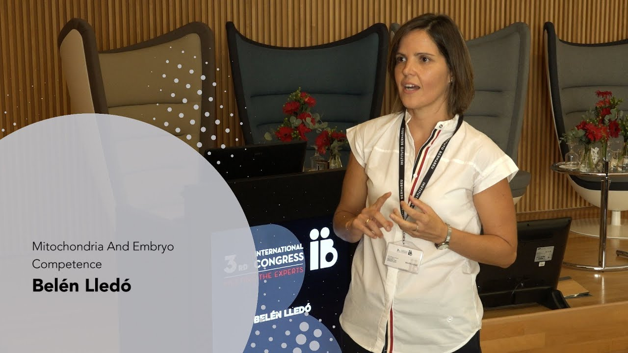 3rd Meeting the Experts: Belén Lledó. Mitochondria And Embryo Competence. Instituto Bernabeu