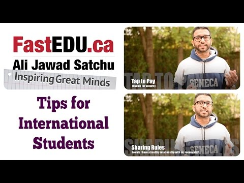 Tips for International Students coming to Canada