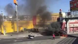 Saqueo en Elektra de Chinocautla en Ecatepec, Estado de México