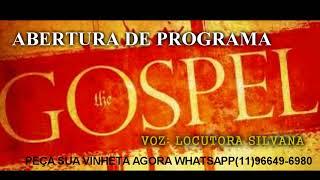 vinheta abertura programa gospel voz feminina apena R$ 20