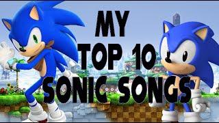 Top 10 Sonic Songs width=