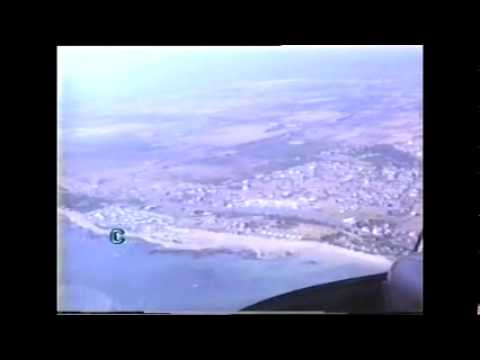 Helicopter flight over Gordon`s Bay / South Africa 1989
