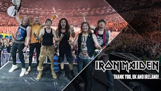 Iron Maiden - Thank You UK & Ireland!