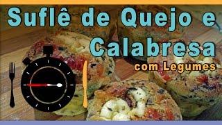 Suflê de Queijo, Calabresa e Legumes - Receitas em Segundos | #0031