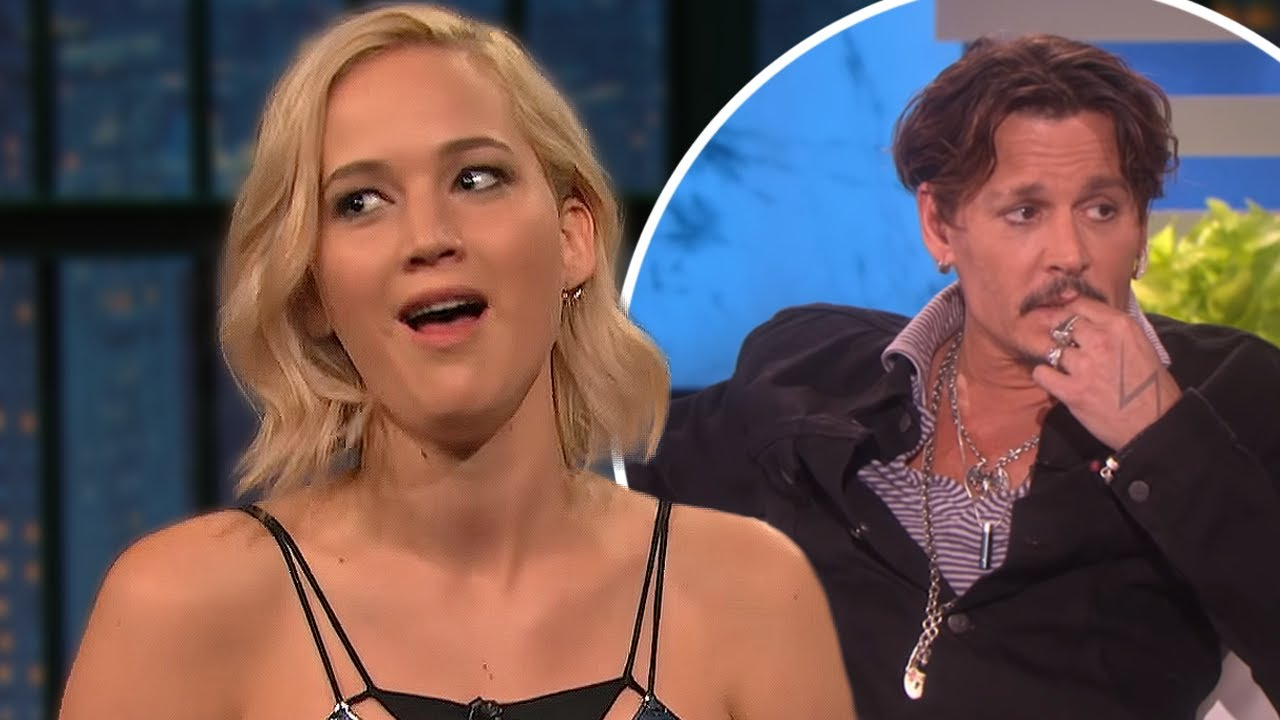 Johnny Depp being thirsted over by Female Celebrities!