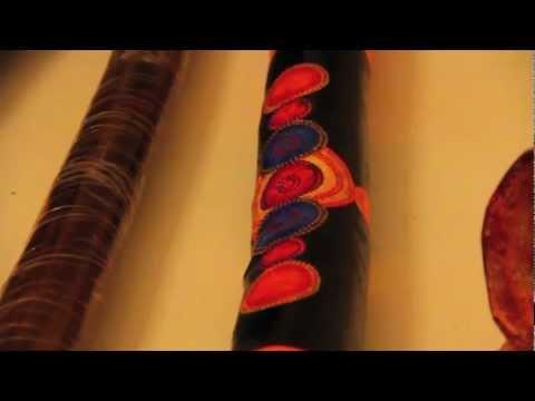 Australian Aborigine Didgeridoos Bring Warmth to Wintery Kyiv