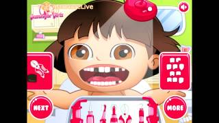 Fun Dora Dentistry Game Dora Has Teeth Problems