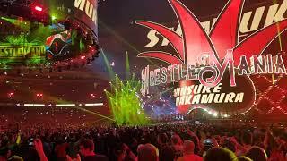 Shinsuke Nakamura Entrance - WrestleMania 34