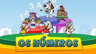A música dos números - Patinho Tuga (contando de 1 a 10)