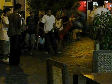 Motorcycle Central America……………Street Dancing in Granada