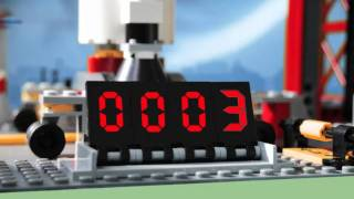 LEGO in Space Countdown
