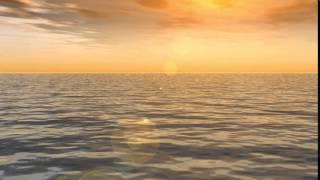 [Worship Loops] Sunset waves - Light - Wather - Free Background - IgniteMotion.com