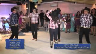 Quinceañera Baile Sopresa - MIX: Zapateado encabronado Alacranes Musical