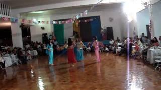 Cecília, Bruna, Cléo e Bianca - Dança do Ventre